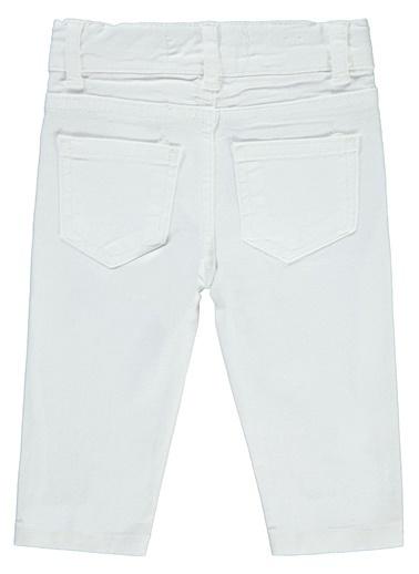 Civil Baby Erkek Bebek Pantolon  Beyaz